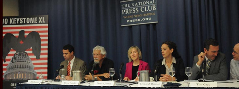 October 11, 2013, National Press Club in Washington DC, Photo by Billiam James